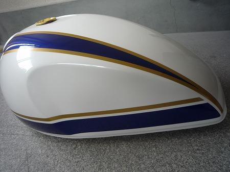 バイク 塗装
